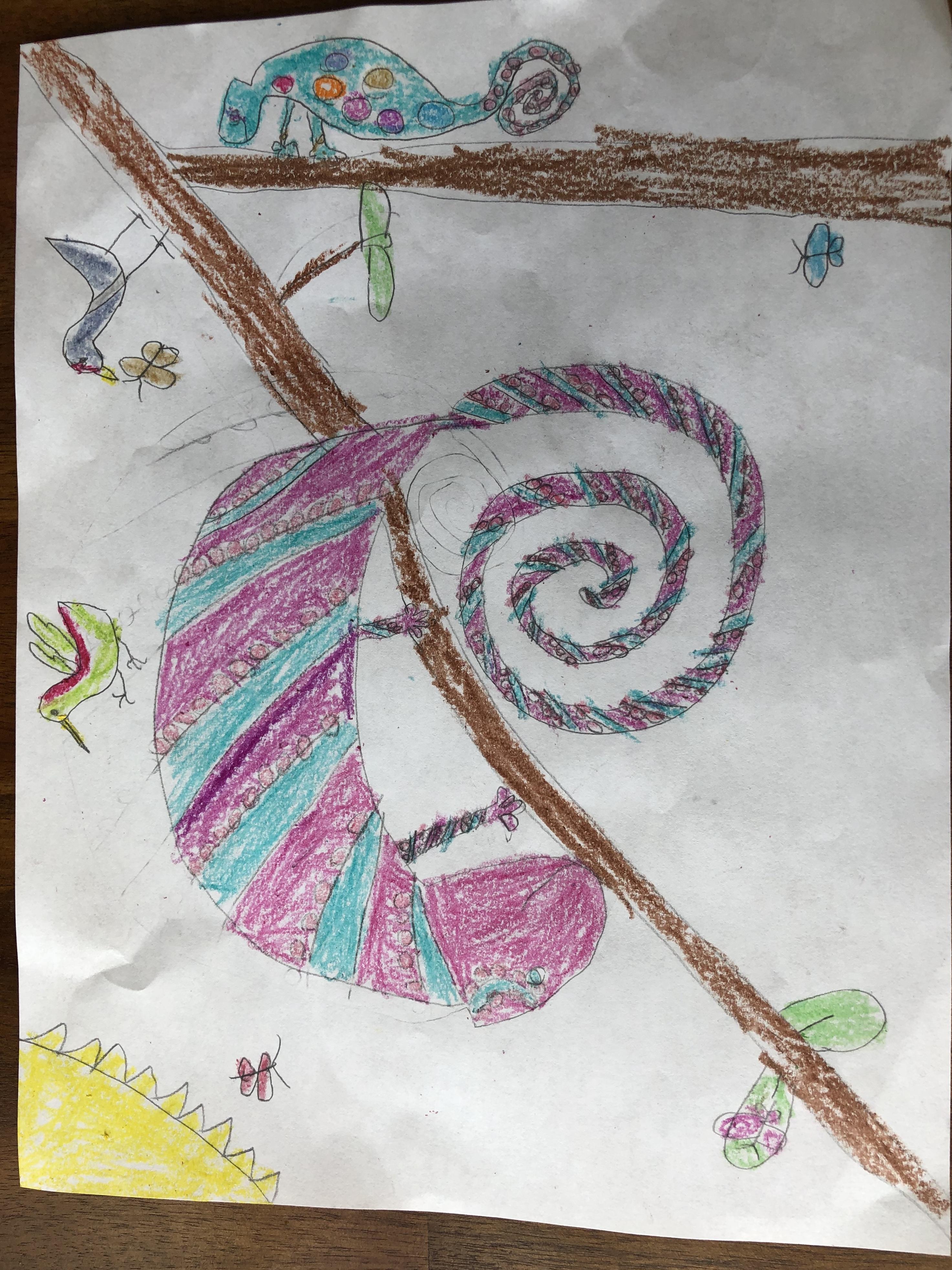 Crazy Chameleons by Ella Mobley