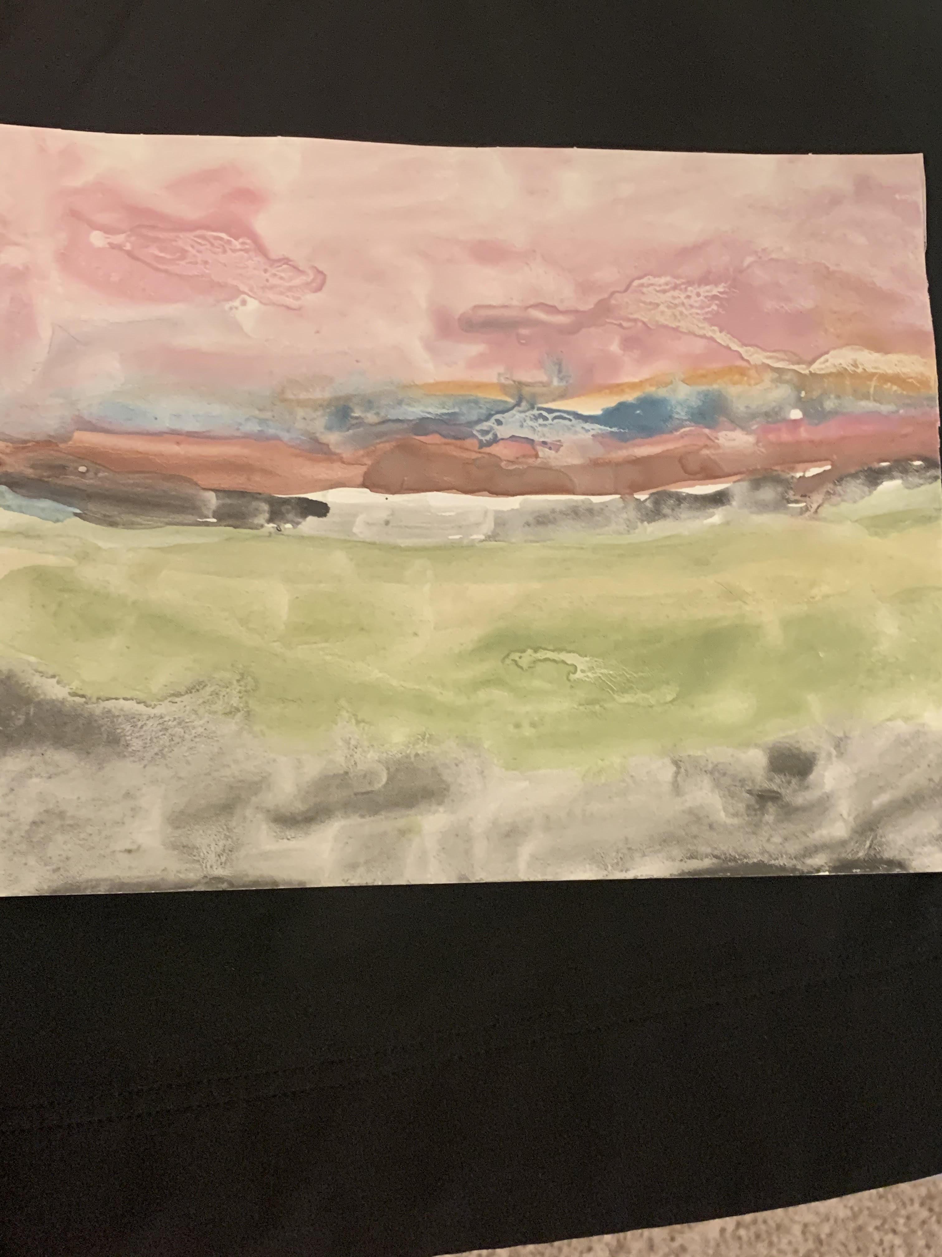 Landscape by Jiya Sherpa Chauhan