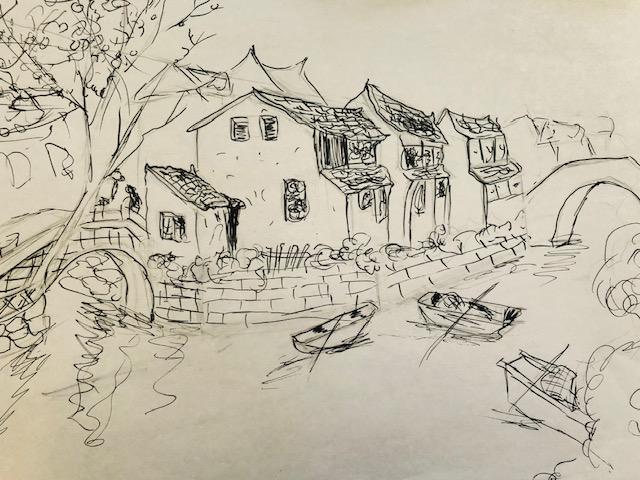 Jiangnan Water Town by Valentina Cheng