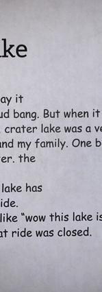 Crater Lake by Ben Brown