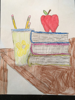 A Student's Desk by Marko Bandov