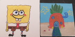 SpongeBob SquarePants by Leyana Haque