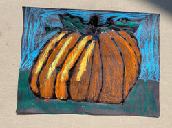 Pumpkin Van Gogh by Ava Ireland Eggert