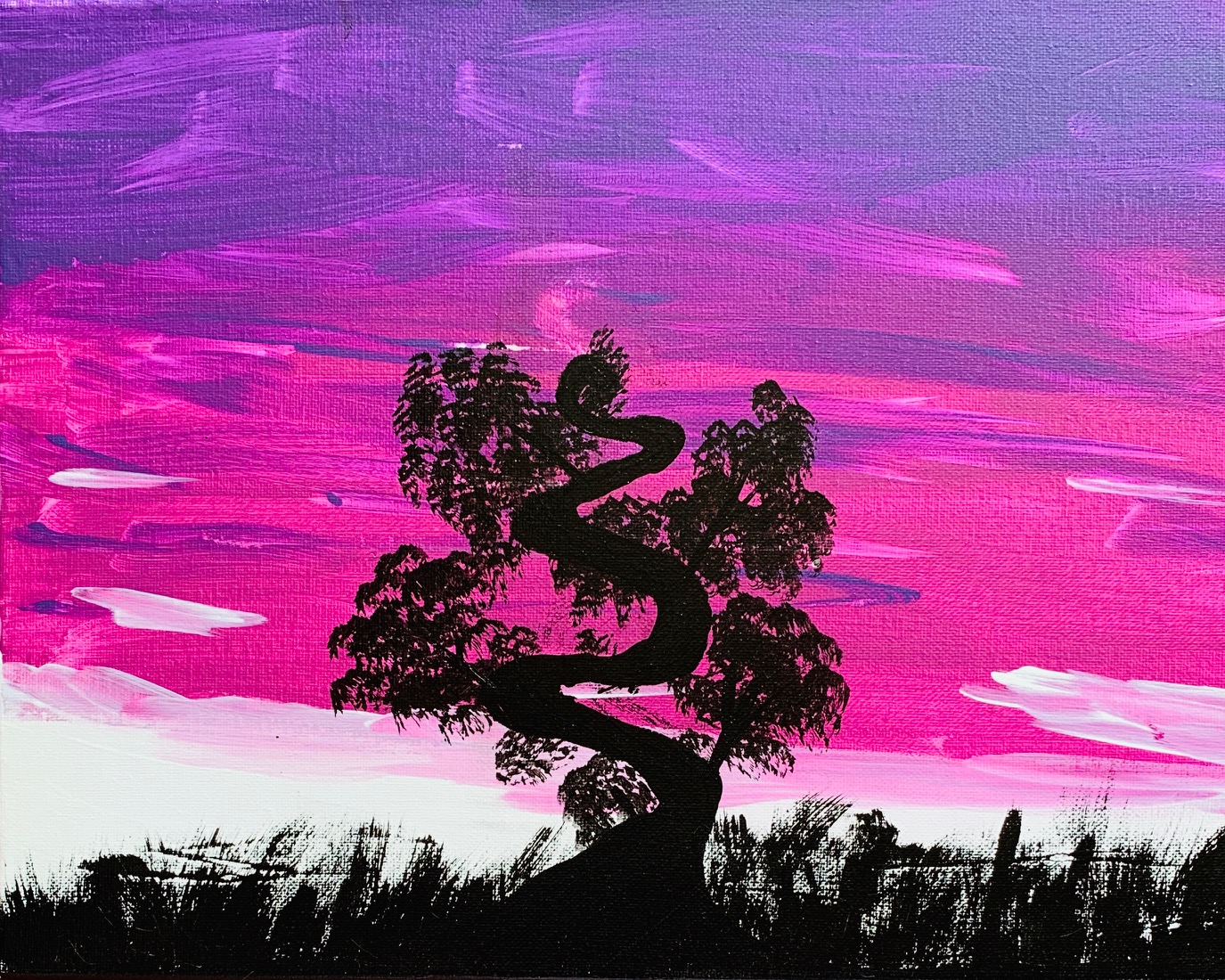 Sunset Tree by Kaelee Irwin
