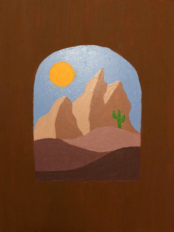 Desert Window by Nicole Uribe