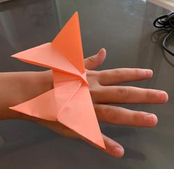 Origami Butterfly by Sofia Lara