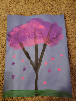 Cherry Blossom Tree by Audri McKenna