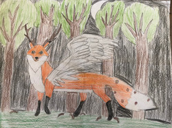 Mystic Fox by Sarah Leal