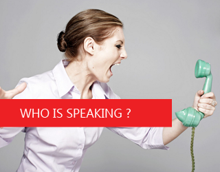 Who Is Speaking ?
