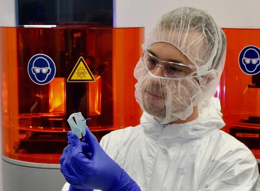 Additiv gefertigter Applikator für die Krebstherapie geht mit CE-Kennzeichnung in Serie