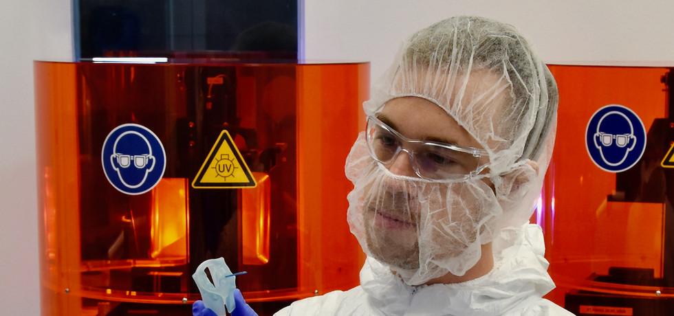 envisionTEC 3D Drucker für die Medizintechnik
