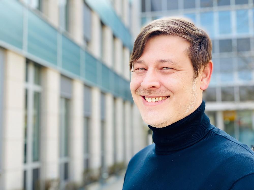 Christopher König, technische Geschäftsführer DREIGEIST