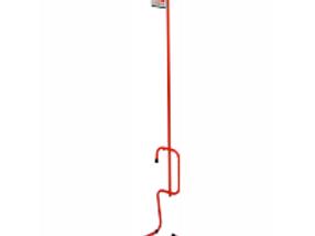Piedistallo porta estintore rosso