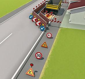 dpi segnaletica cantiere autostrada