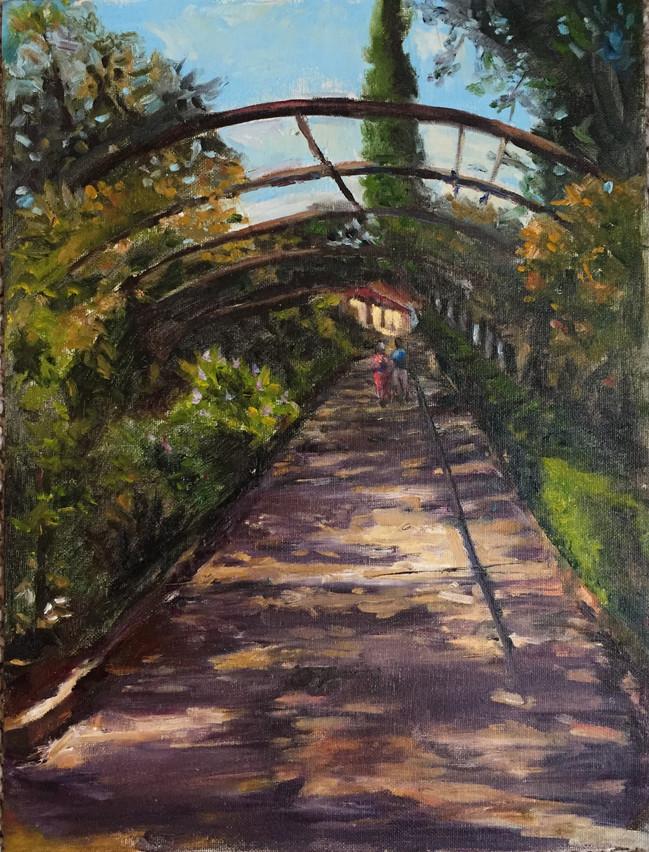 Romantic Walk Boboli Garden