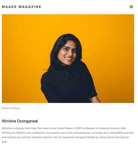 Maake Magazine: Artist spotlight