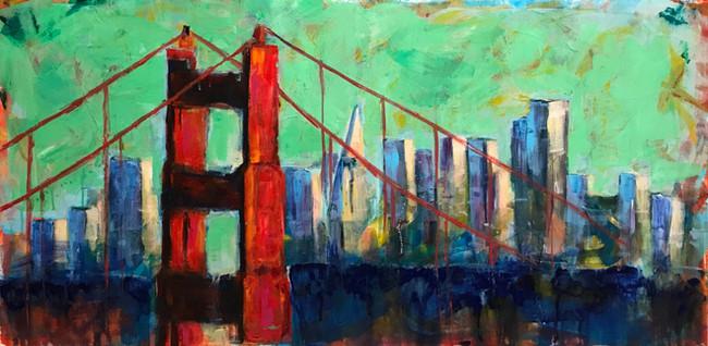 Nimisha_Golden GateBidge_acrylic.JPG