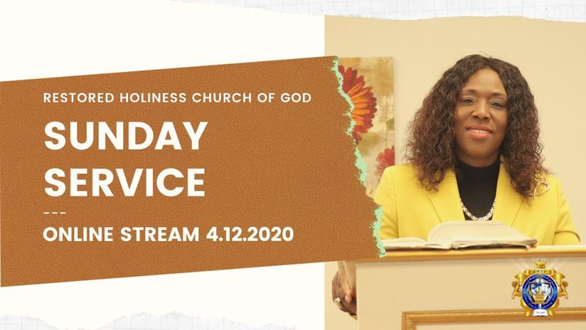 Resurrection Sunday 4.12.2020