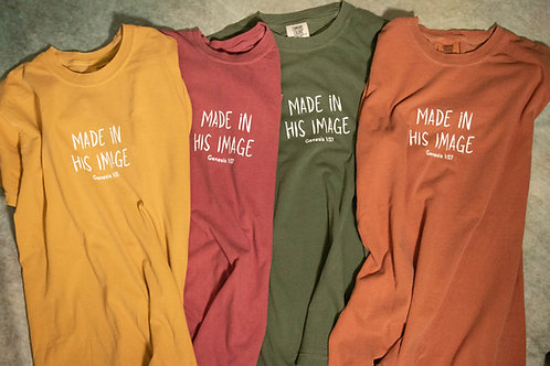 'Made In His Image' Tee - 2.0