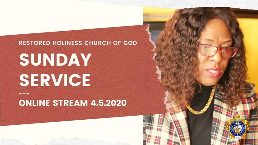 Sunday Service 4.5.2020