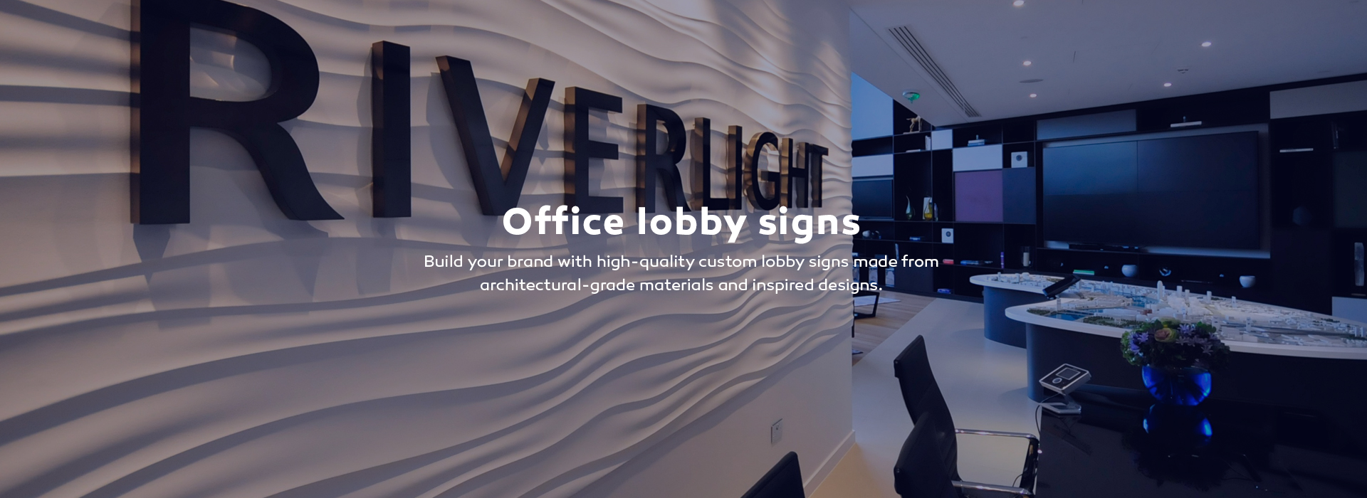 Lobby signs
