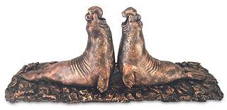 Nikos W. Dettmer-Seeelefanten, Bronze.jp