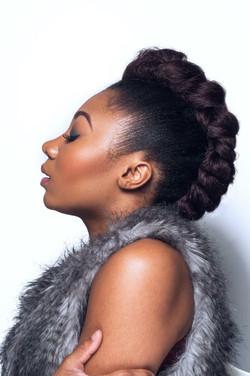 MUA: Ashlee Small/Hair: Lashara L.