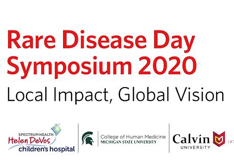 Rare Disease Day 2020 Symposium Graphic.