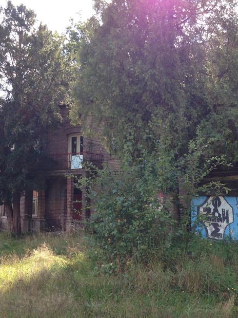 Tak nie wyglądał dom. Cud, że go zobaczyliśmy.