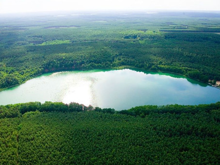 Weekend pełen cudów. Cud trzeci - Jezioro Gryżyńskie.