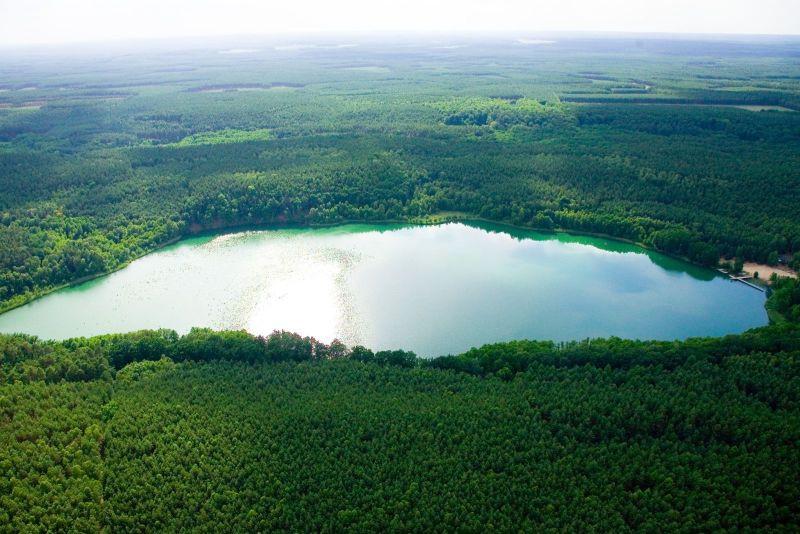 Jezioro Gryżyńskie www.bytnica.pl