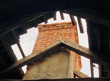 Trwa remont dachu.