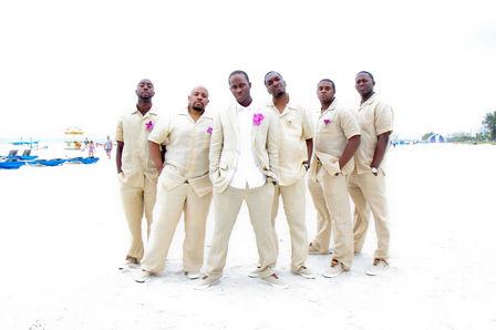 Groomsmen wedding photo ideas st pete beach