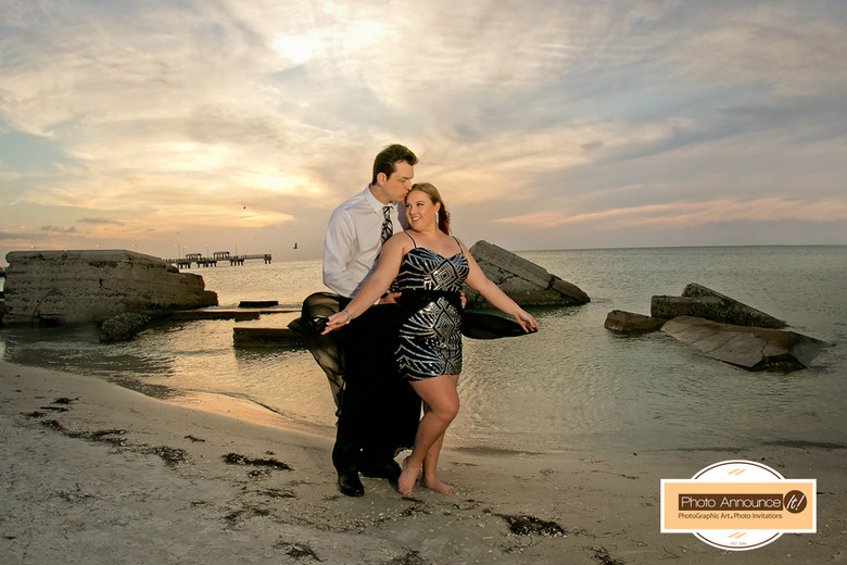Fort Desoto Engagement Photo Session