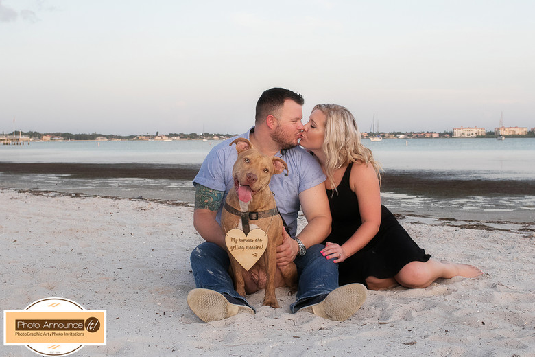 Gulfport Beach Engagement Photo Session