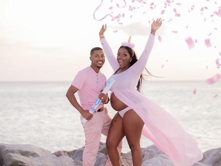 Jason & Taneshi Maternity Gender Reveal