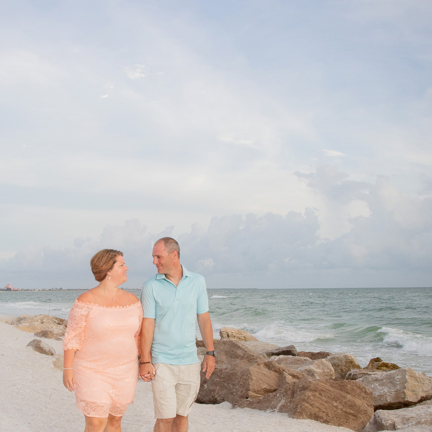Surprise Proposal St Pete Beach Florida