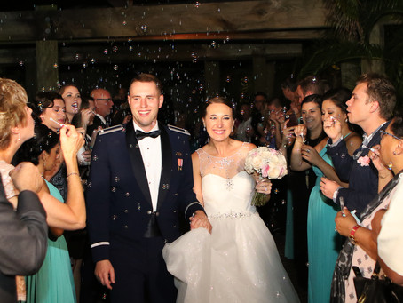 Nikki and Austin Tie the Knot! Disney theme Military Wedding...