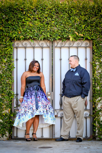 Flirty Engagement photo session downtown st petersburg