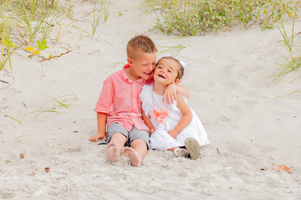 Mederia beach family photos