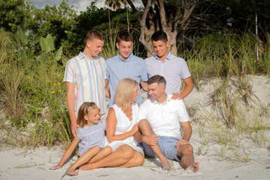 family photographer clearwater beach