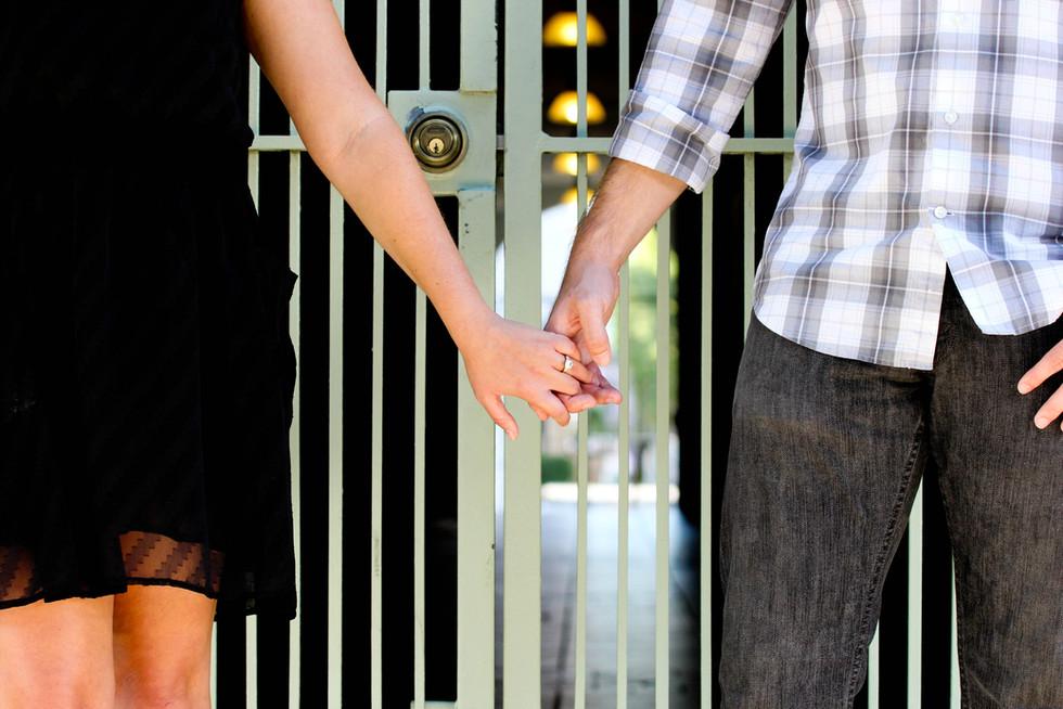 Engagement Photo Session urban love