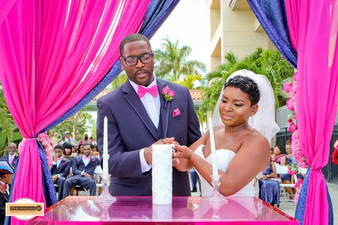 Boca ciega ballroom wedding st pete beach