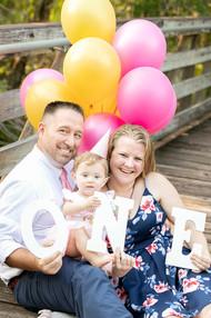 1st Birthday Family Photography