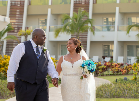 Photo Announce It! Goes to Dominican Republic For John & Nicky's Wedding