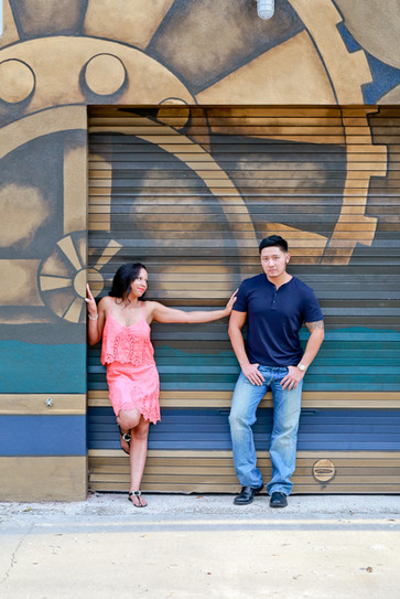 Downtown St Petersburg Engagement photos