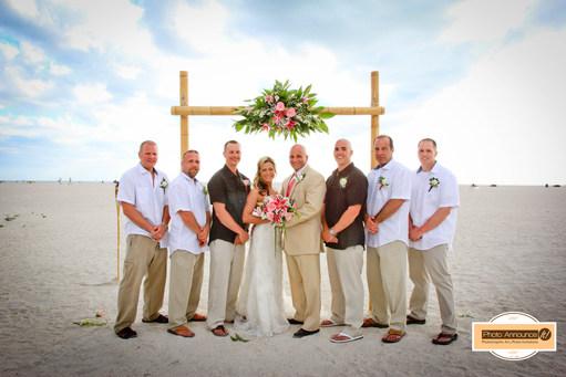 Bilmar Beach Resort Weddings Treasure Island