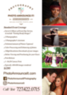 Wedding Photographer Tampa St Pete Clearwater
