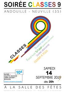 Soirée Classes 9