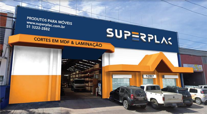 Mockup Fachada Superplac